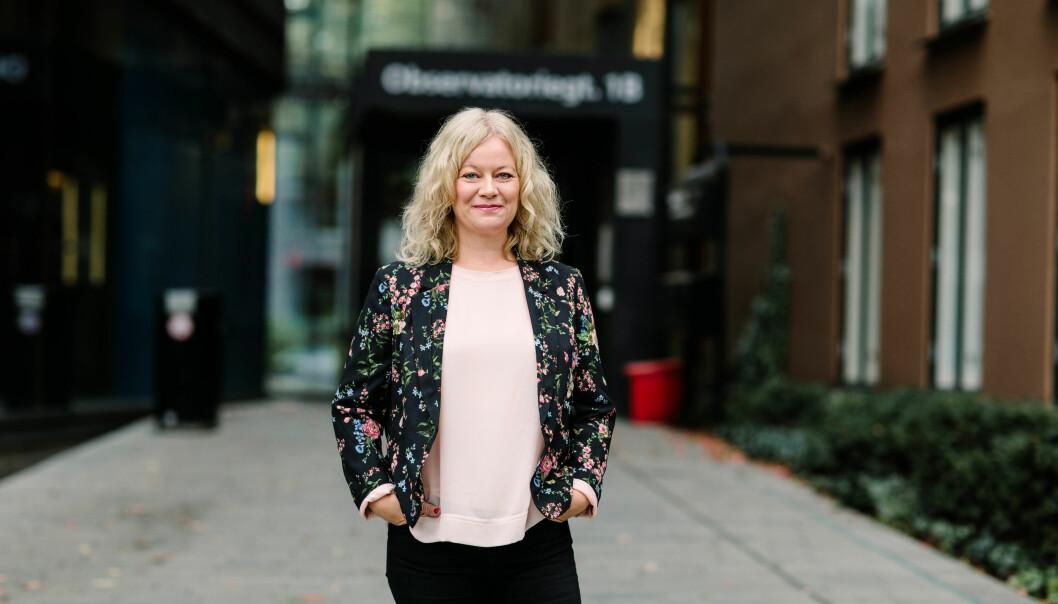 Nina Teigland i Språkrådet minner om at universiteter og høgskoler har et lovverk å forholde seg til. Foto: Språkrådet / Moment Studio