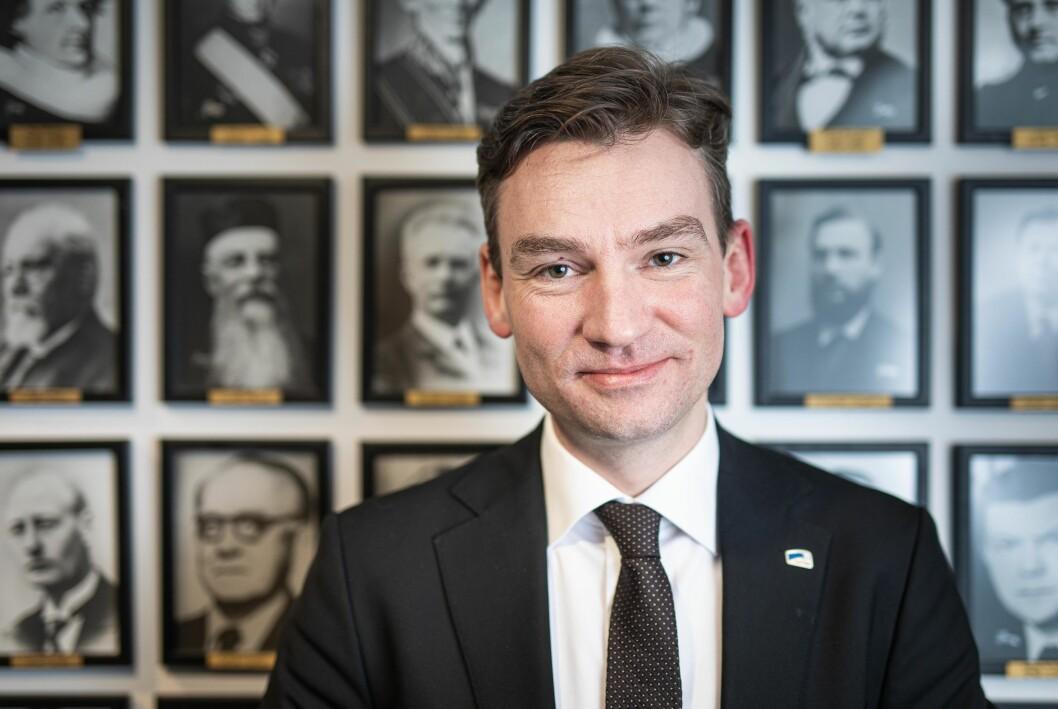 Henrik Asheim, er avtroppede statsråd for forskning og høyere utdanning. Foto: Siri Øverland Eriksen