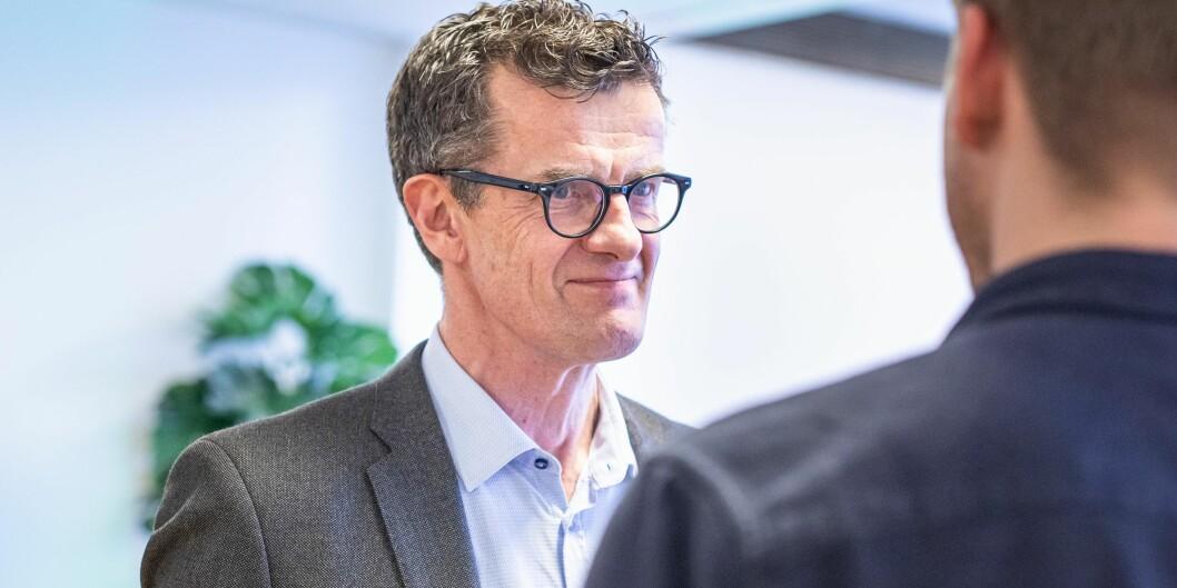 Rektor Klaus Mohn ved Universitetet i Stavanger må konstatere at Nokuts sakkyndige påpeker vesentlige mangler i universitetets systematiske kvalitetsarbeid. Foto: Siri Øverland Eriksen