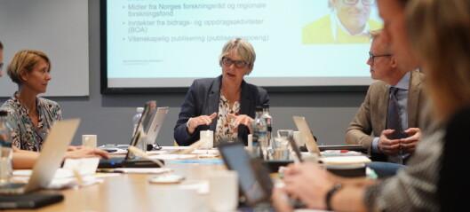 OsloMet-styret på tur til Kjeller