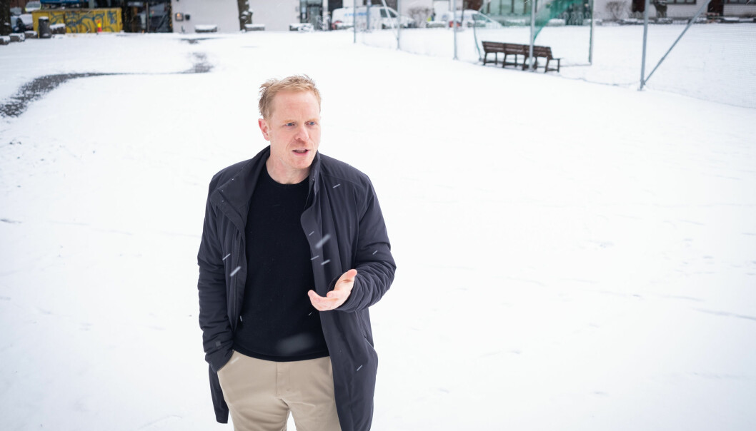 Herman Cappelen er en av de relativt nyansatt professorene ved Universitetet i Oslo som blir pekt på som en hovedgrunn til de økonomiske problemene ved instiuttet. Foto: Torkjell Trædal