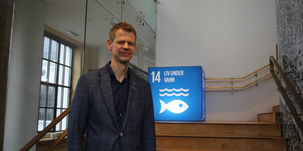 Dagens studentar er meir medvitne om klima enn generasjonane før, og forventar òg noko anna frå universiteta, meiner NMBU-prorektor Solve Sæbø. Foto: Anne Skifjeld