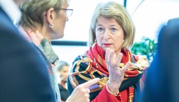 Sittende valgte rektor Anne Husebekk kunne søkt jobben, men gjør det ikke. Foto: Siri Øverland Eriksen