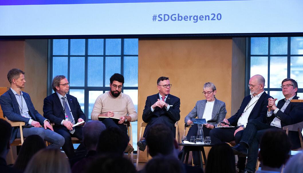 SDG-konferansen gikk som vanlig i vinter, men det blir flere konferanser som blir avlyst eller flyttet ved Universitetet i Bergen.