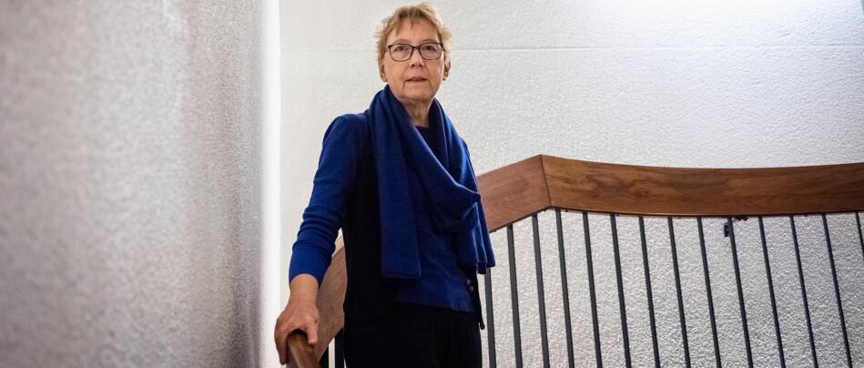 — Jeg misliker sterkt den aggressive tonen i innlegget, sier professor Christel Fricke. Foto: Torkjell Trædal
