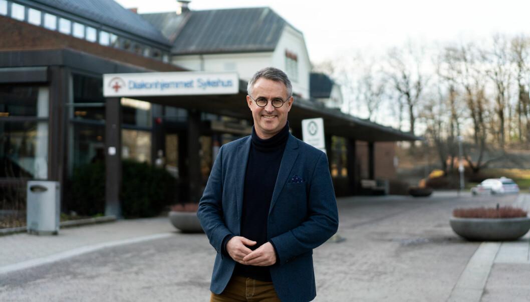 Rektor ved VID vitenskaplige høgskole, Bård Mæland. VID er av landets høgskoler som både er privat og har et kristent verdigrunnlag, selv om de ikke er blant de som har fått størst prosentvis vekst i budsjettene.