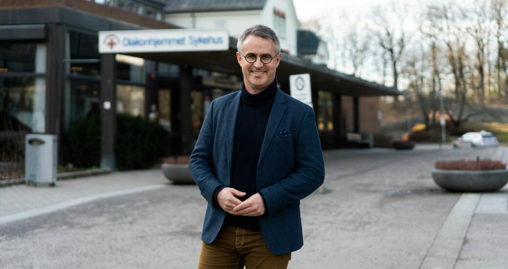 VID-rektor Bård Mæland er glad for snart å kunne tilby personer med utviklingshemming høyere utdanning.