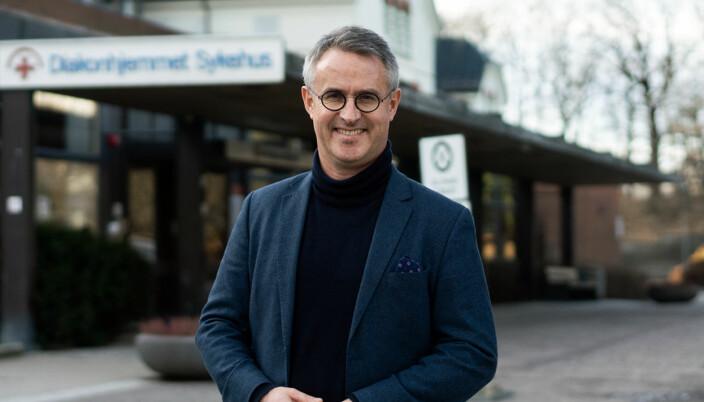 Rektor ved VID vitenskaplige høgskole, Bård Mæland, gleder seg til å få Lund og Odden med på ledelseslaget.