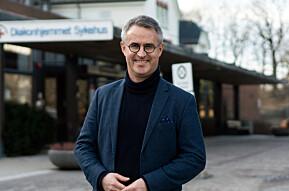 Rektor ved VID vitenskaplige høgskole, Bård Mæland ser fram til mer øyekontakt.
