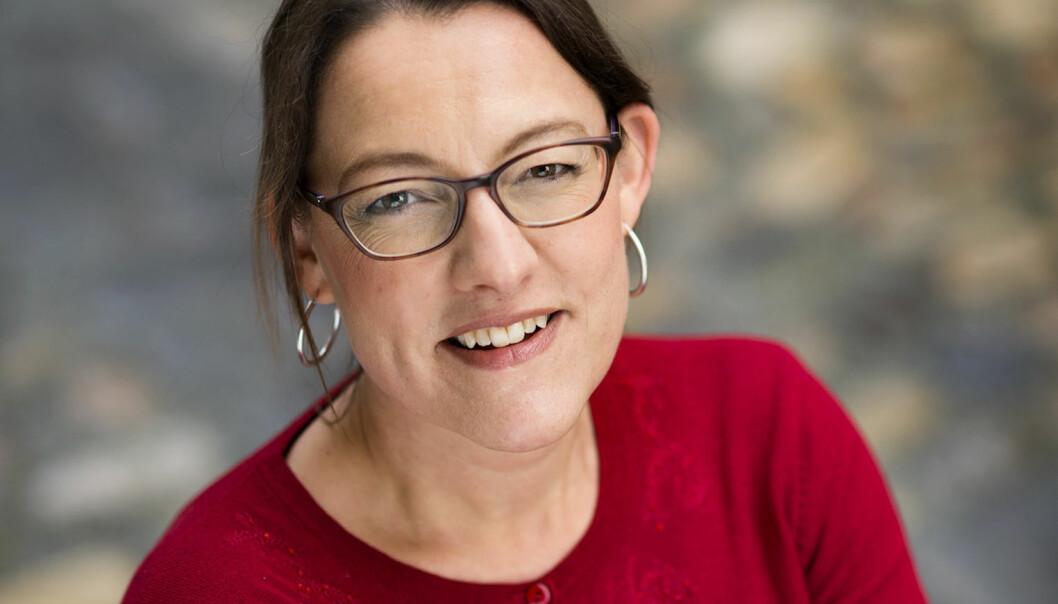 Førsteamanuensis Margrethe Stang er lei av å få masete e-poster fra eksamenssystemet Inspera. Foto: Fortidsminneforeningen.