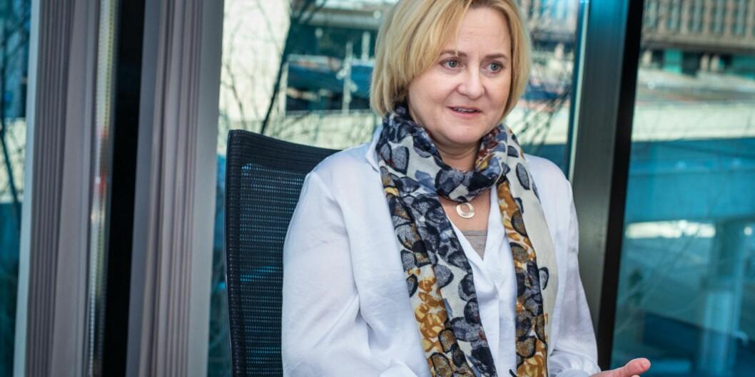 Helga Aune leder utvalget om ny universitets- og høgskolelov. Foto: Siri Øverland Eriksen