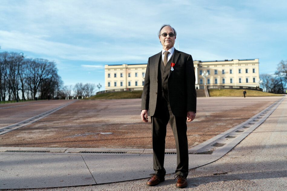 Klar for Kongen: Professor og offer for pensjonsreformen: Jose Julio Gonzalez. Foto: Ketil Blom Haugstulen