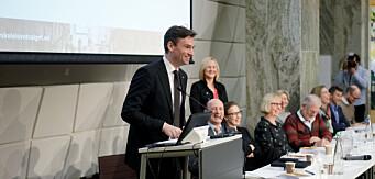 Ny lov om universiteter og høgskoler. Henrik Asheim