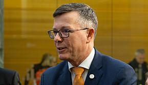Dag Rune Olsen, leder for Universitets- og høgskolerådet og rektor ved Universitetet i Bergen.