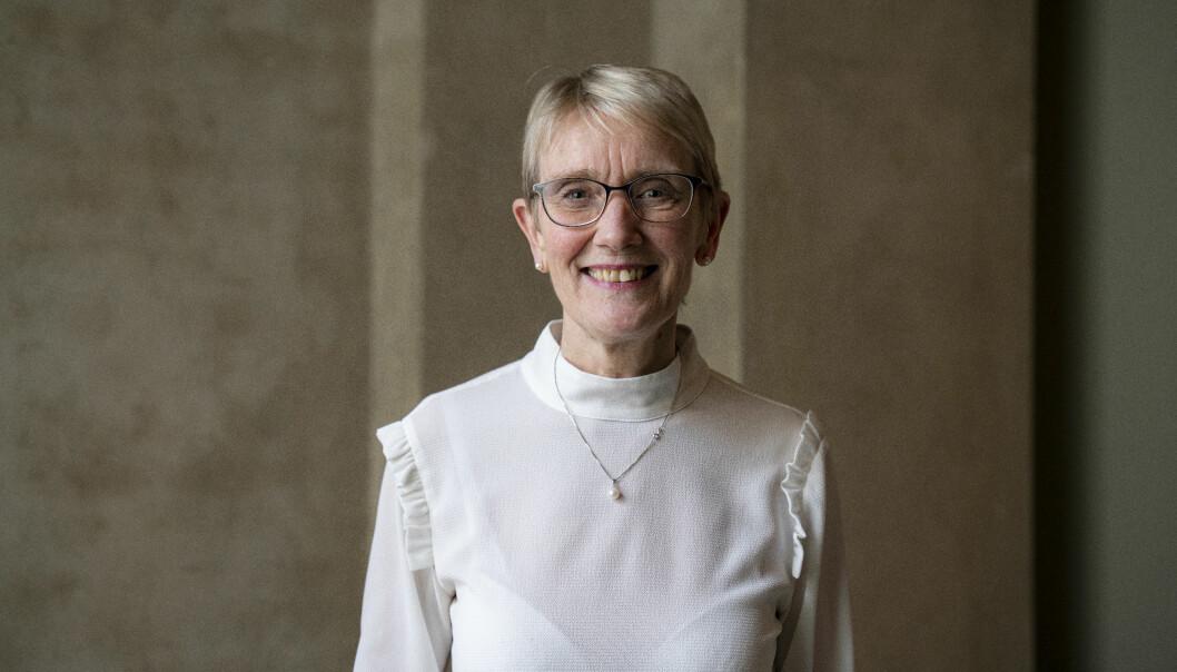 Rektor Anne Borg kan forsikre om at studentene ved NTNU vil få tilbud om undervisning også på campus fra høsten av.