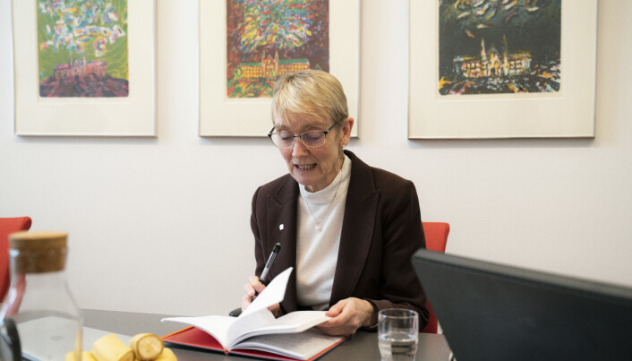 Anne Borg, rektor ved NTNU. Foto: Leikny Havik Skjærseth