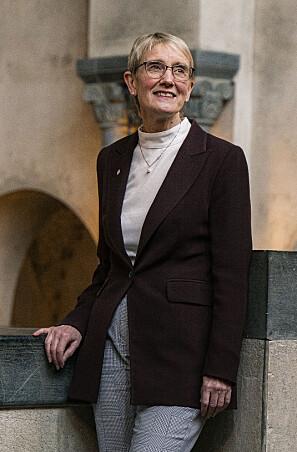 Anne Borg har ikkje opplevd det som krevjande å vere kvinne i akademia. Foto: Leikny Havik Skjærseth