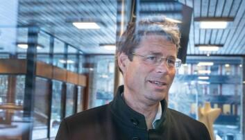 Frode Helland er dekan ved Det humanistiske fakultet. Han skal få seks nye kollegaer. Foto: Siri Øverland Eriksen