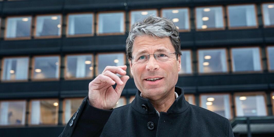 Oslo 2020-02-05- Frode Helland dekan Humanistiske fakultet. Foto: Siri Øverland Eriksen