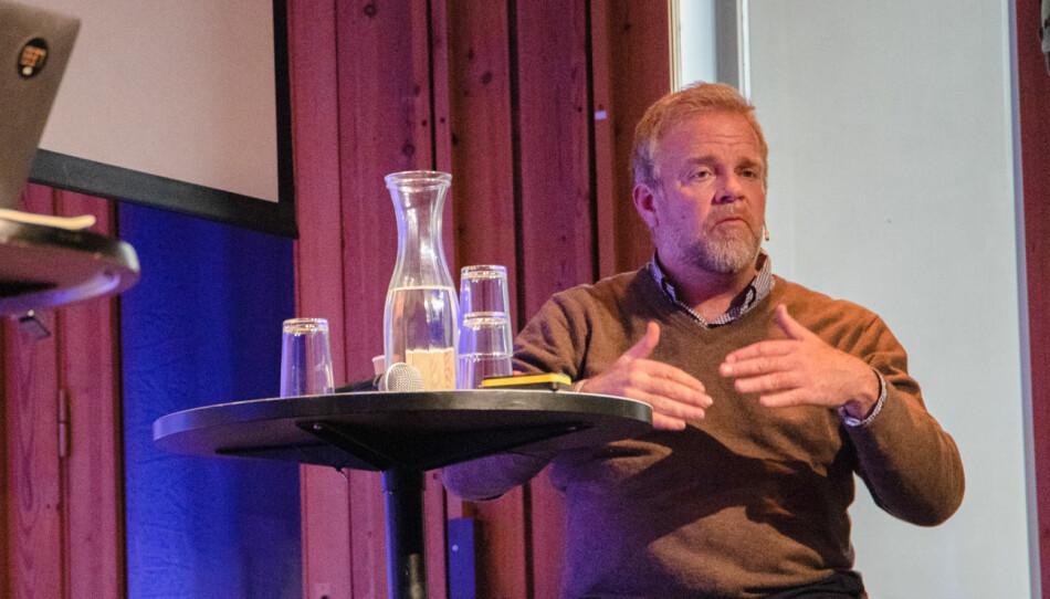 — Dette er symptomatisk for hvordan disse debattene foregår, sier advokat Jon Wessel-Aas. Foto: Anna Jakobsen/Nordiske Mediedager