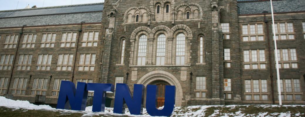 Undervisning er avlyst og studenter sendes hjem ved Campus Øya og Tunga. Dette bildet er av NTNUs hovedbygning på Gløshaugen.