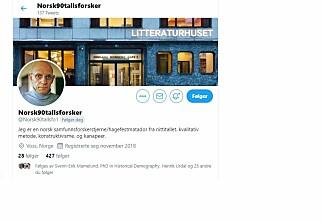 Twitterkonto gjør narr av norske 90-tallsakademikere