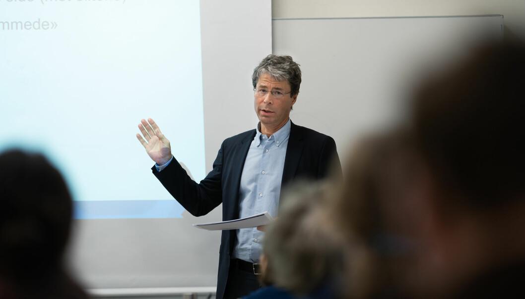 Dekan Frode Helland (bildet) leder arbeidsgruppen for demokrati og ulikhet i UiOs arbeid med regjeringens nye langtidsplan for forskning og høyere utdanning.