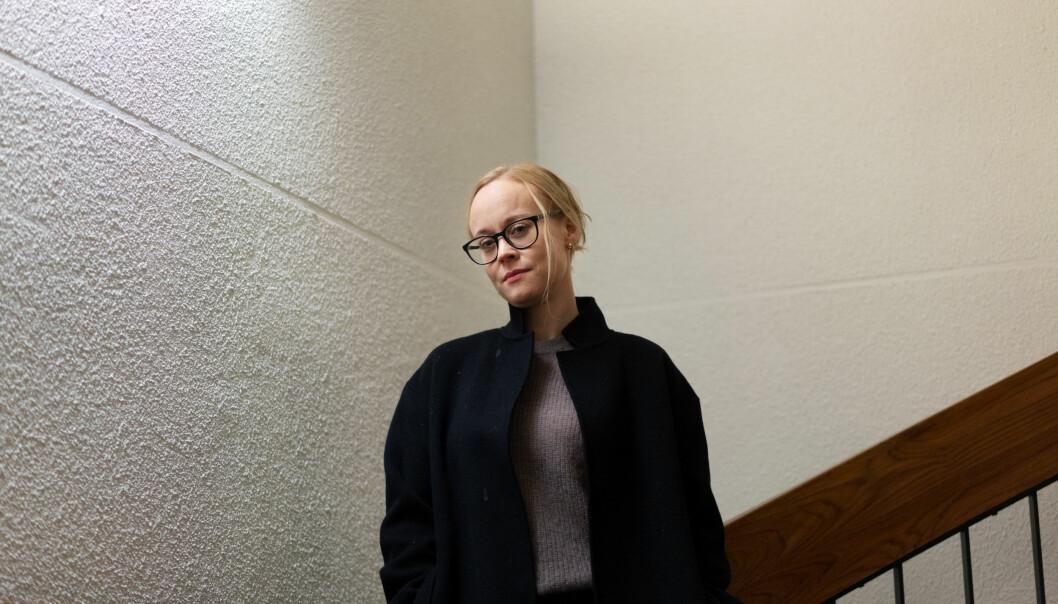 Ingrid Lossius Falkum er forsker ved Institutt for filosofi, ide- og kunsthistorie og klassiske språk ved Universitetet i Oslo og er også leder av Akademiet for yngre forskere. Hun sier at situasjonen under pandemien er svært krevende, særlig for unge forskere..