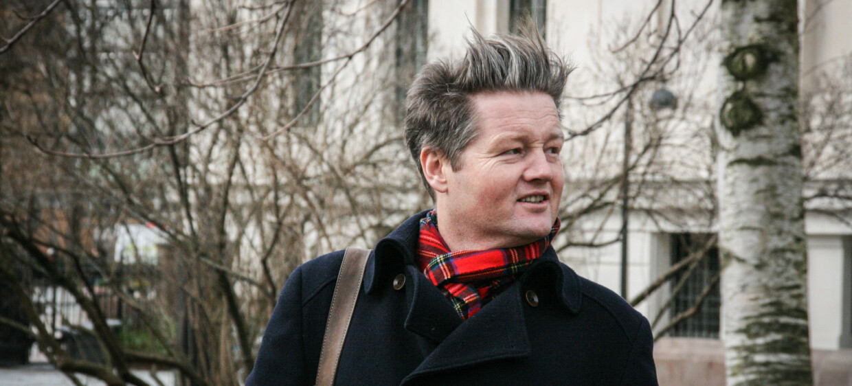 Stidpendiat Simon Malkenes. Foto: Ragnhild Vartdal