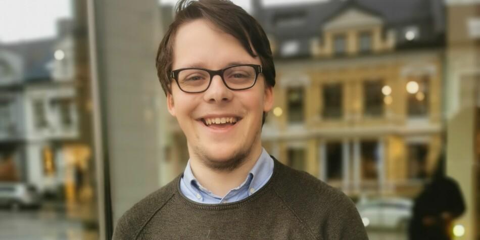 Morten Stene jobber i dag i Studenparlamentet UiB. Foto: Anette Arneberg