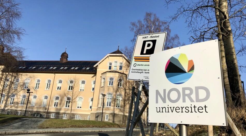 Doktorgradsstudentane på Nord universitet gjer seg raskare ferdig enn andre, viser tal som er innrapportert til NSD. Bildet er frå Nords campus i Levanger. Foto: Njord V. Svendsen