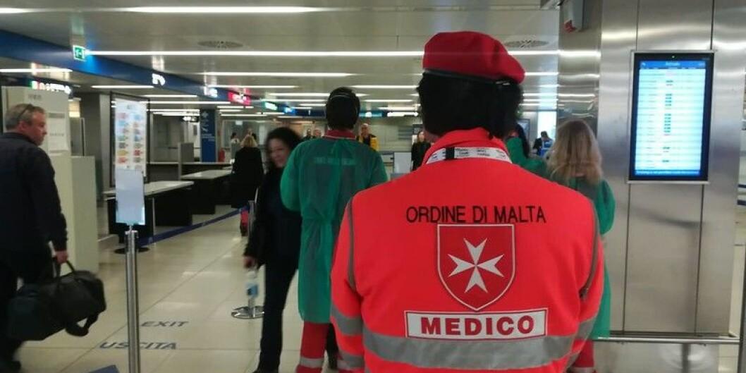 Italia er landet i Europa med flest korona-smitta. Der er òg ein norsk student no i karantene, etter å ha fått påvist sjukdommen. Foto:flickr.com/Dipartimento Protezione Civile