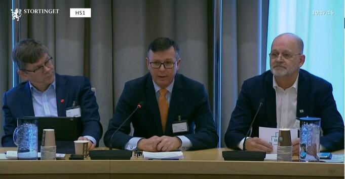 Høring på Stortinget: Krever at universitetene skal eie egne bygg
