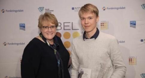 Vant Abelkonkurransen for tredje år på rad