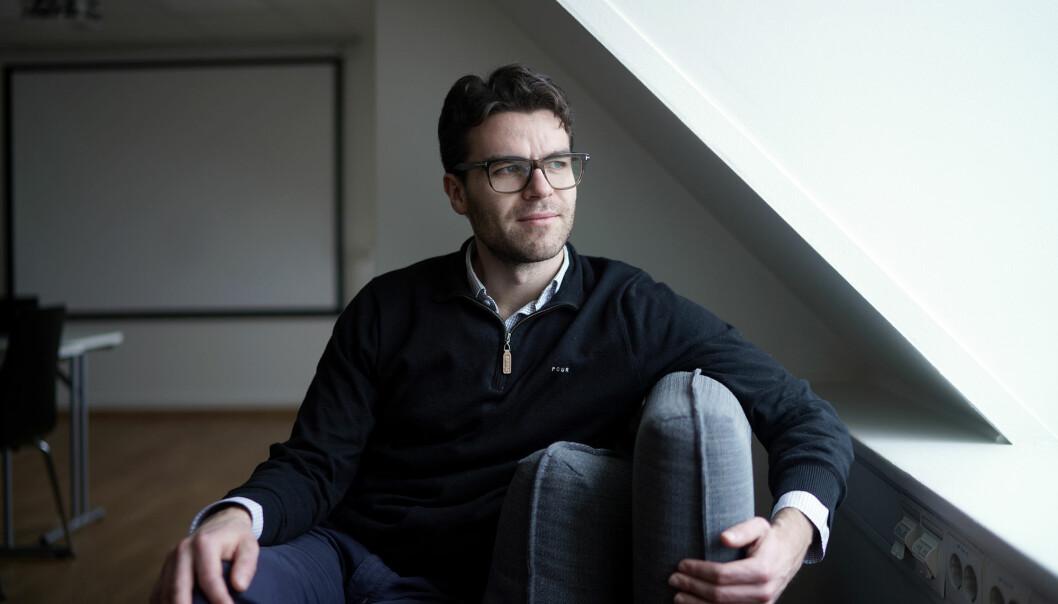 Mats Kirkebirkeland mener det ikke bør virke avskrekkende med en egenandel på mellom 5 000 til 10 000 i semesteret. Foto: Ketil Blom Haugstulen