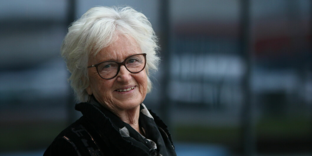 Professor emerita Berit Bae kan nå kalle seg Ridder 1. klasse etter å ha blitt utnevnt til Den Kongelige Norske St. Olavs Orden. Foto: Mariell Tverrå Løkås / barnehage.no