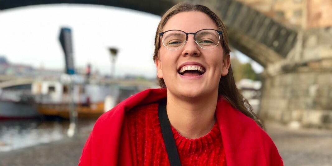 Marion Kristine Gustavsen studerer for tiden ved Høgskulen i Volda. Nå håper hun å ta pause fra studiet i ett år for å jobbe heltid for Norsk studentorganisasjon.