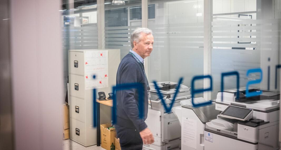 Ole Kristian Hjelstuen, direktør i Inven2, mener TTO