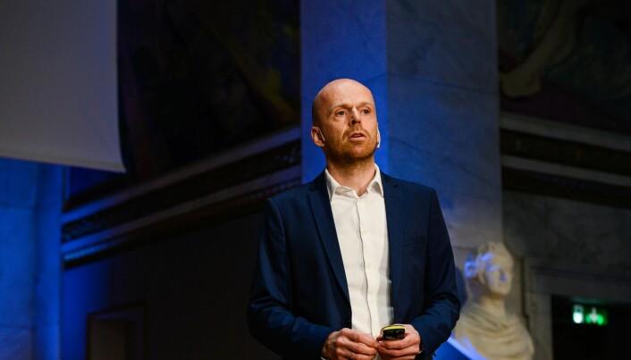 Andreas Austeng, professor ved Institutt for informatikk ved Universitetet i Oslo