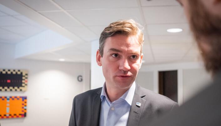 Henrik Asheim, forsknings- og høyere utdanningsminister.
