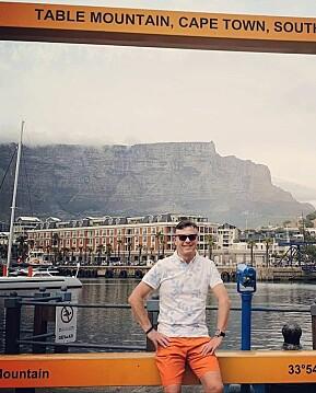 Dag Rune Olsen er ikke redd for å havne i karantene når han kommer hjem - det er svært få korona-tilfeller i Sør-Afrika. Foto. privat