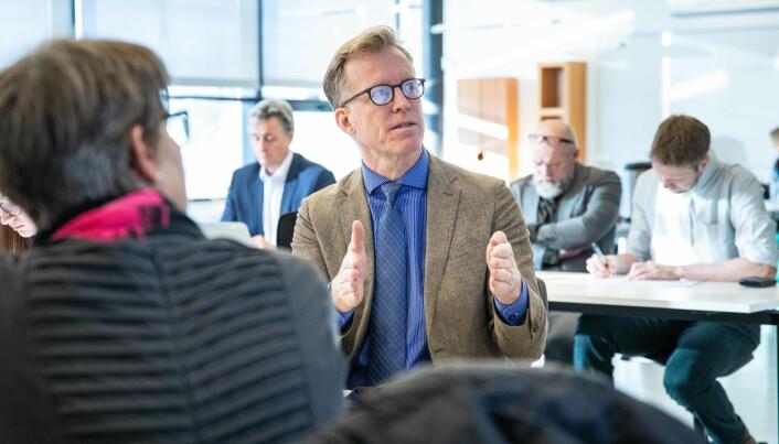 Rektor Curt Rice mener erfaringene koronakrisen har gitt sektoren vil være avgjørende for diskusjoner rundt OsloMets nye fullverdige campuser i Oslo og på Romerike.