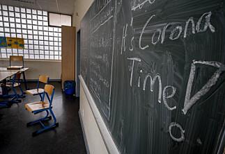 Forskere er uenige om effekten av å stenge skoler