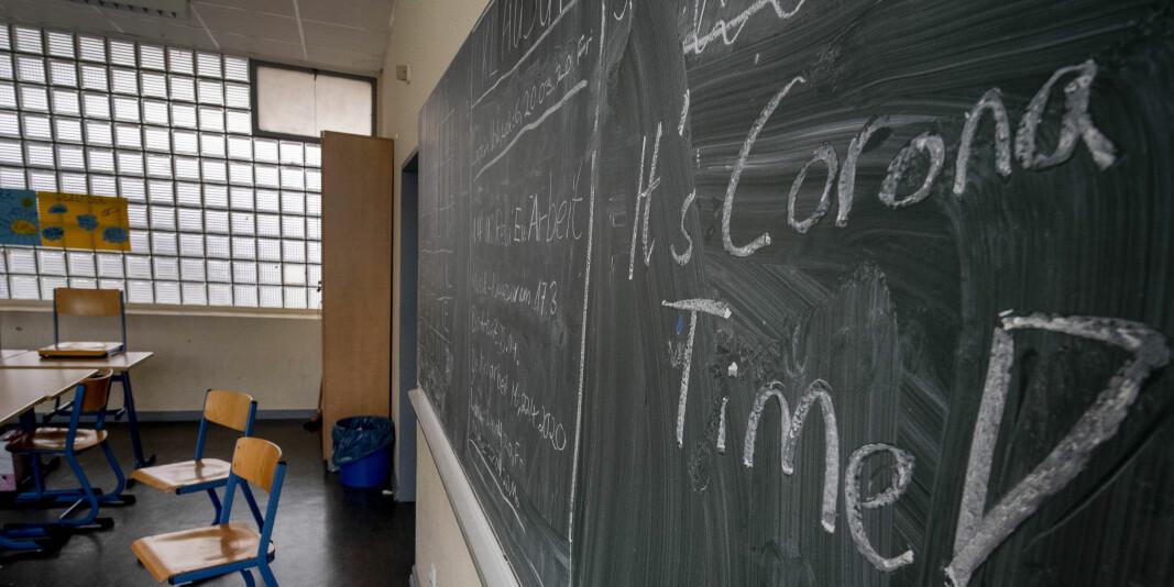 Elever har skrevet