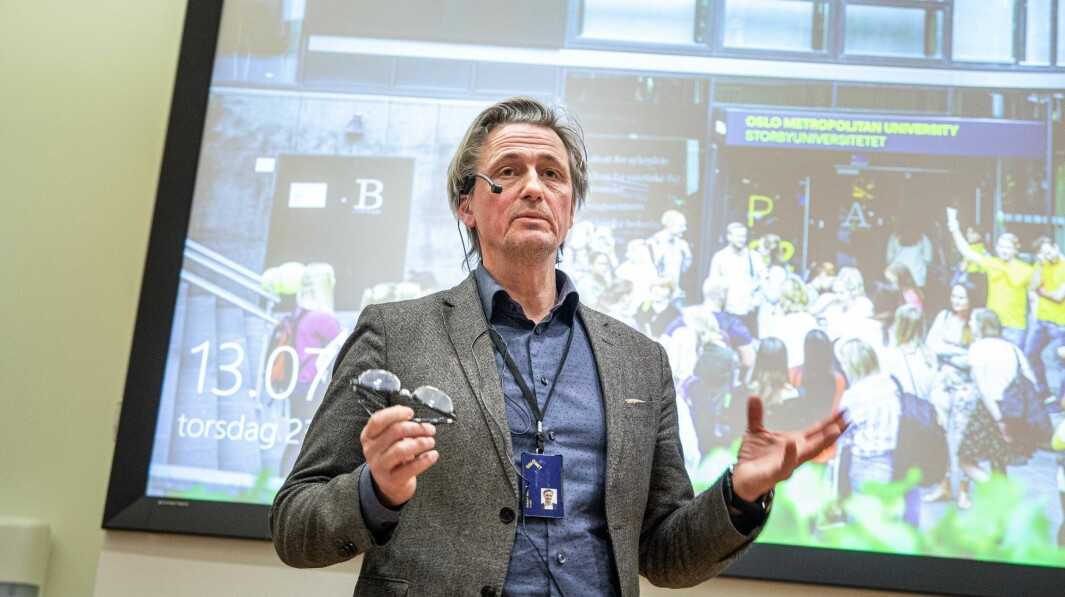 Direktør Asbjørn Seim og beredskapsutvalget tok avgjørelsene om tiltak i koronakrisen ved OsloMet. Rektor Curt Rice deltok ikke på møtene i beredskapsgruppen, men ble holdt informert om avgjørelsene som ble tatt, blant annet om å stenge tilgang til universitetet.