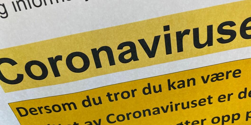 Flere hundre studenter og ansatte er i karantene som følge av koronavirusutbruddet