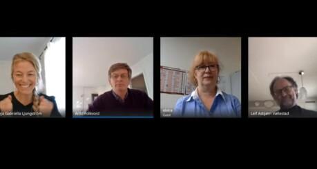 Videokonferanser eller forelesninger i opptak?