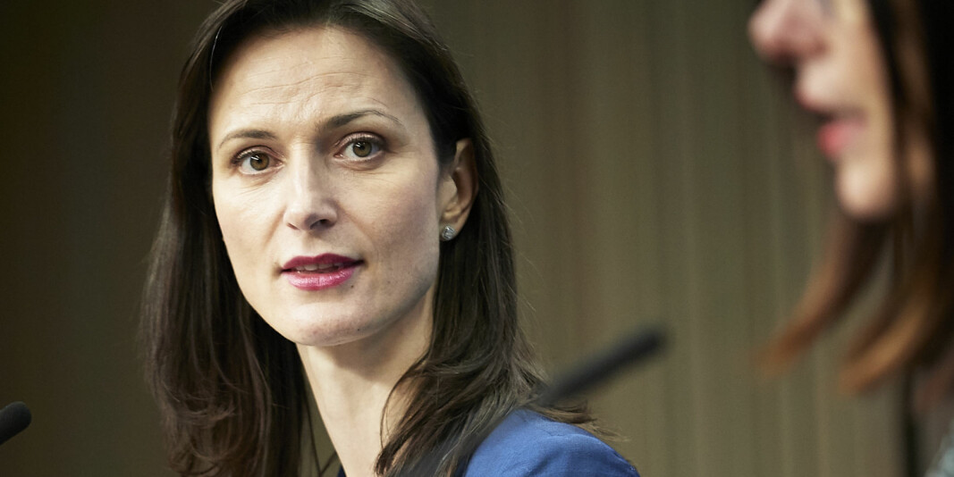 Mariya Gabriel, EU-kommissær for forskning, innovasjon, utdanning, kultur og ungdom.