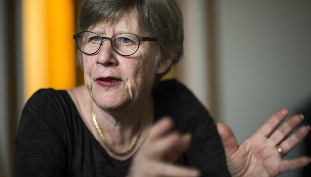 Agnes Wold er professor i klinisk bakteriologi.