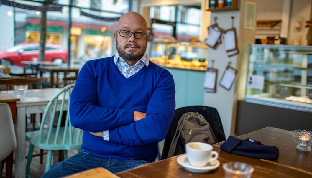 Førsteamanuensis Morten Walløe Tvedt.